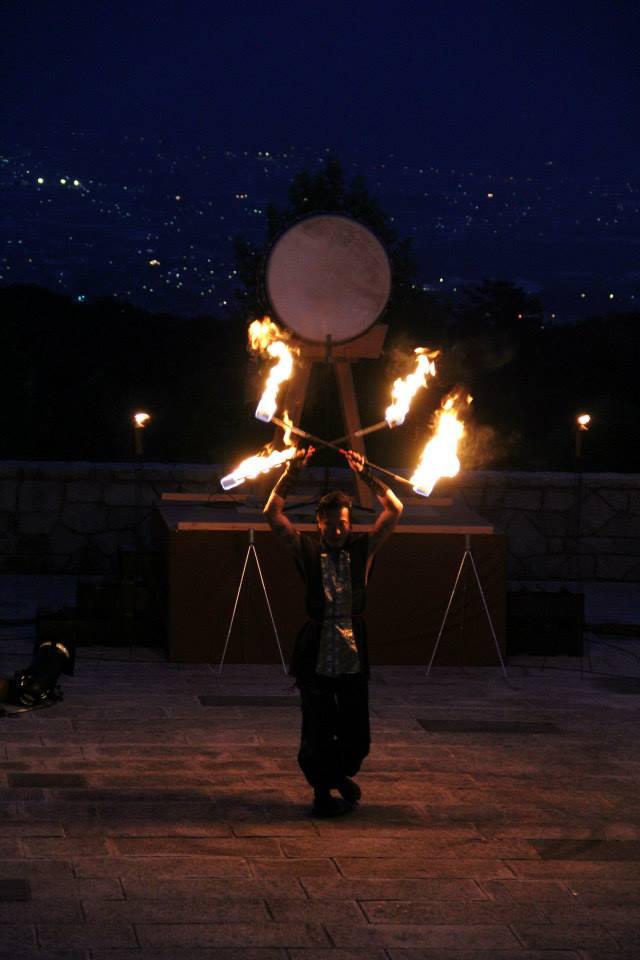 Fire Show Ryoma Shiba