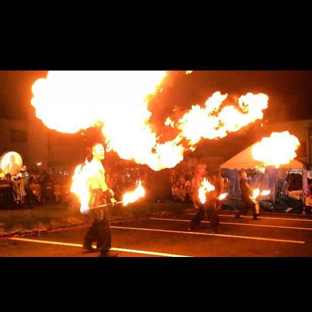 Fire Show Fire Performance